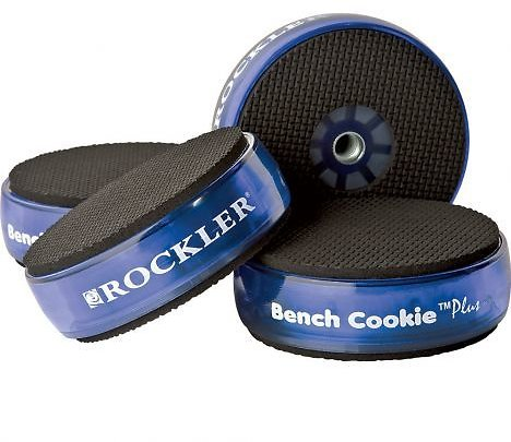 Rockler Bench Cookie Plus Work Grippers, 4-Pack
