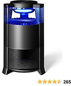 Fly Trap FLASHVIN Mosquito Killer for Patio Bug Zapper Mosquito Eradicator Indoor Fruit Fly Traps,Gnat Trap Waterproof Design with Sticky Glue Boards