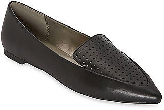 Womens Gemi Pointed Toe Ballet Flats