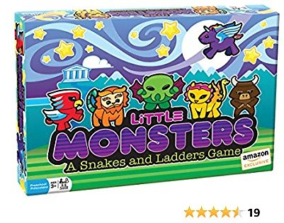 Outset Little Monsters A Snakes and Ladders Game
