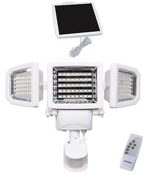 Westinghouse 2000 Lumens Solar Motion Activated Security Light W/ Remote Control - Sam's Club