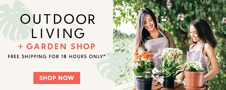 Free Shipping (limited Time!) On Outdoor & Garden