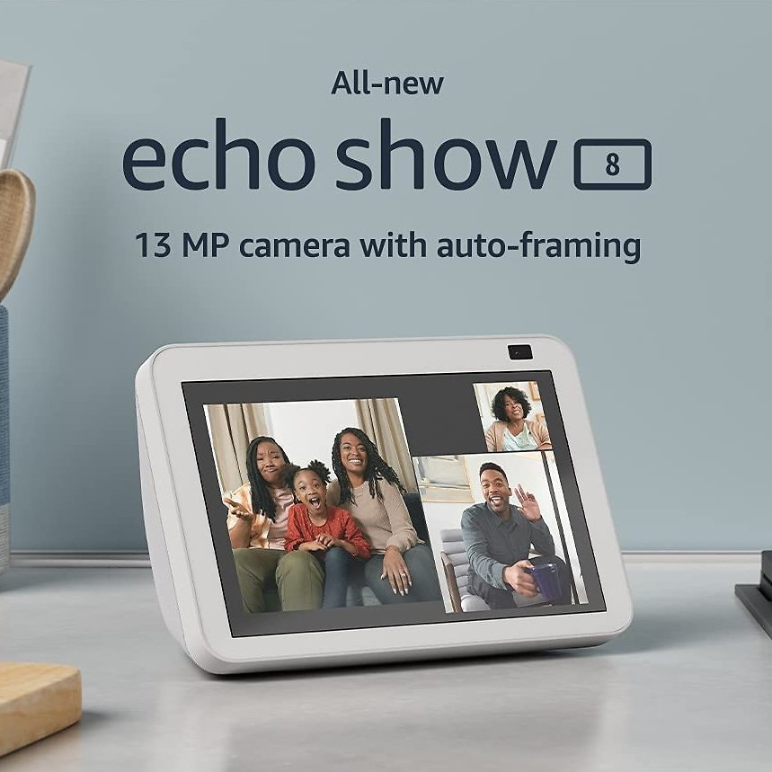 All-new Echo Show 8, Echo Show 5, and Echo Show 5 Kids