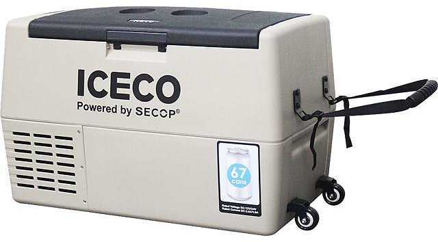ICECO TR45 Portable Refrigerator, 45 Liter, DC 12/24V, AC 100-240V, Fridge Freezer Cooler, For Outdoor and Home, For Car, Truck, Vehicle, Van, Camping, Picnic, 0° to 50° (khaki) - Newegg.com