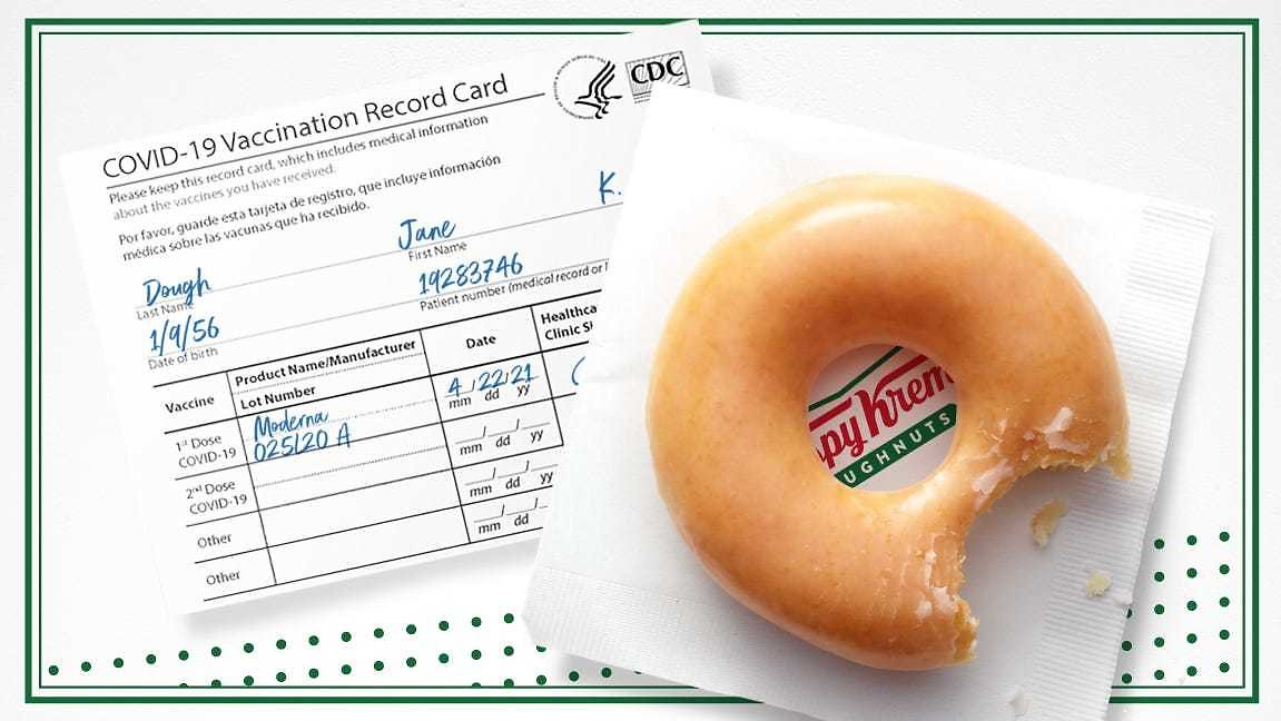 Tax Day Deals: Free Krispy Kreme Doughnut, Coors Seltzer Rebate, Discounts and Vaccine Freebies Up for Grabs Monday