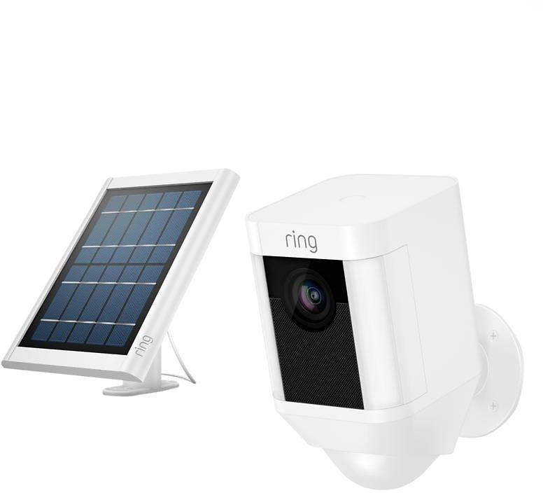 New! Ring Security Spotlight Camera with Solar Panel and Ring Assist+