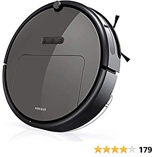 Roborock E35 Robot Vacuum and Mop, 2000Pa Strong Suction, App Control, Scheduling, Route Planning, Handles Hard Floors and Carpets, Ideal for Homes with Pets