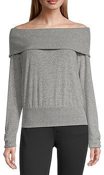 By&by-Juniors Womens Straight Neck Sweater