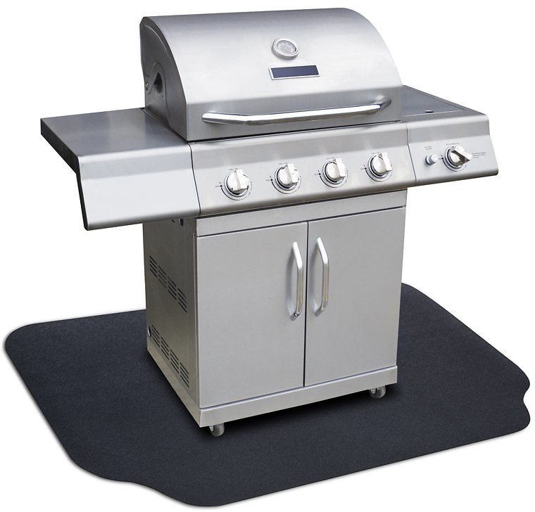 GrillTex Under-the-Grill Protective Patio & Deck Mat, 36