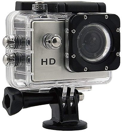 GoCam 720p HD Waterproof Sports and Action Video Camera with 2