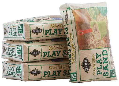 3 for $10 SAKRETE 50 Lb. Play Sand (In-Store)