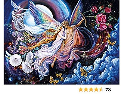 Buffalo Games - Josephine Wall - Eros and Psyche (Glitter Edition) - 1000 Piece Jigsaw Puzzle