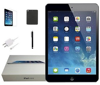 Apple Refurbished Apple IPad Mini (1st Generation) 7.9-inch, Black and Slate, 16GB, Wi-Fi Only, Plus Special Bundle Offer: Case