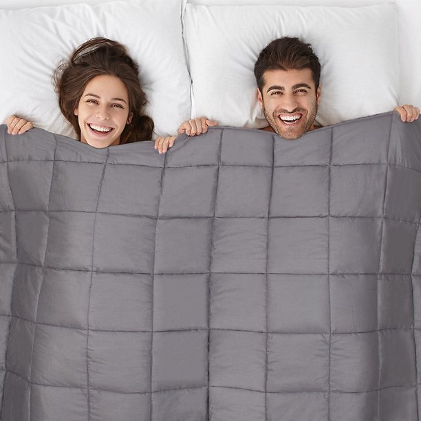 12-Pound Weighted Blanket (3 Colors)