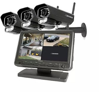 Defender Phoenixm23c Digital Wireless Security System with 7