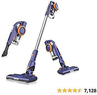 ORFELD Cordless Vacuum, 18000pa Stick Vacuum 4 in 1, Up to 50 Minutes Runtime, with Dual Digital Motor for Deep Clean Whole House