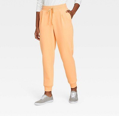 Women's High-Rise Ankle Jogger Pants