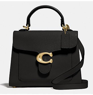 COACH Tabby Top Handle 20 In Mixed Leather - Handbags & Accessories