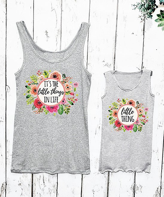 Love This Product Gray 'Little Thing' Tank - Toddler, Girls, Women & Plus
