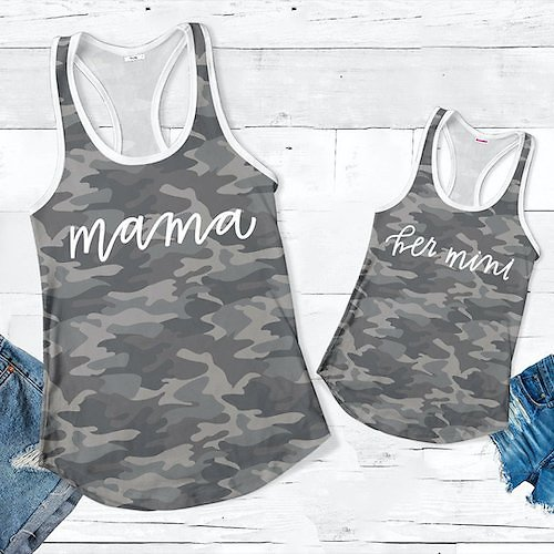 Mommy & Me: Toddler to Women Tank Tees