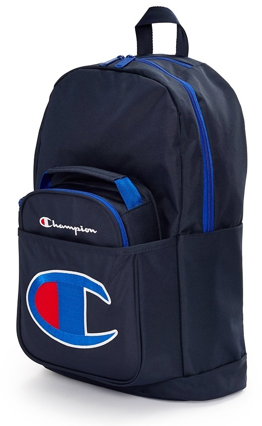 Kids' Champion Life Supercize Backpack With Lunch Kit (5 Colors)
