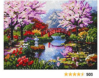 NEILDEN 5D DIY Diamond Painting Kits for Adults Full Drill Gem Art Painting Kits for Adults Embroidery Arts Craft Home Decor 13.717.7 Inch