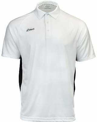 ASICS Corp Mens Golf Top Athletic Polo Short Sleeve - Size S