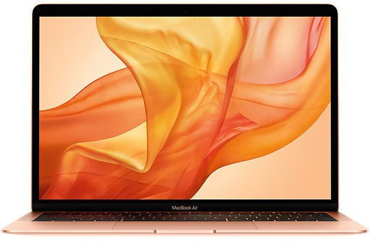 Refurbished 13.3-inch MacBook Air 1.1GHz Quad-core Intel Core I5 with Retina Display and True Tone Technology - Gold