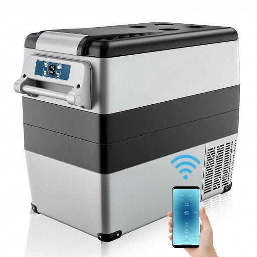30% OFF+ Free Shipping 53 Quarts Portable Electric Car Cooler Refrigerator