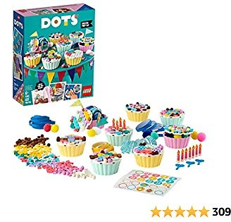 LEGO DOTS Creative Party Kit 41926 DIY Craft Decorations Kit; Makes a Perfect Play Activity for Kids, New 2021 (622 Pieces)