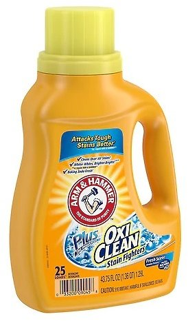 Arm & HammerPlus The Power of Oxi Clean Stain Fighters Concentrated Laundry Detergent Liquid