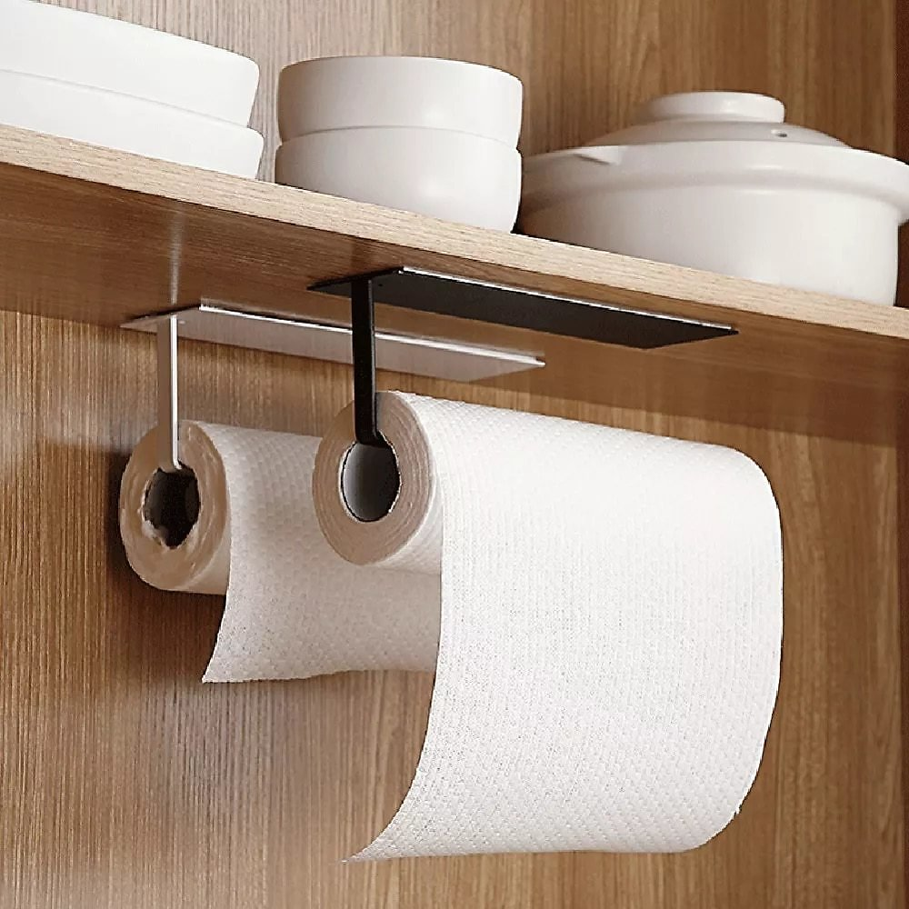 Kitchen Self-adhesive Paper Roll Rack