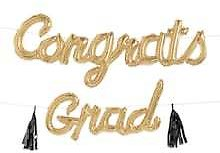10ft. Congrats Grad Balloon Banner By Celebrate It™