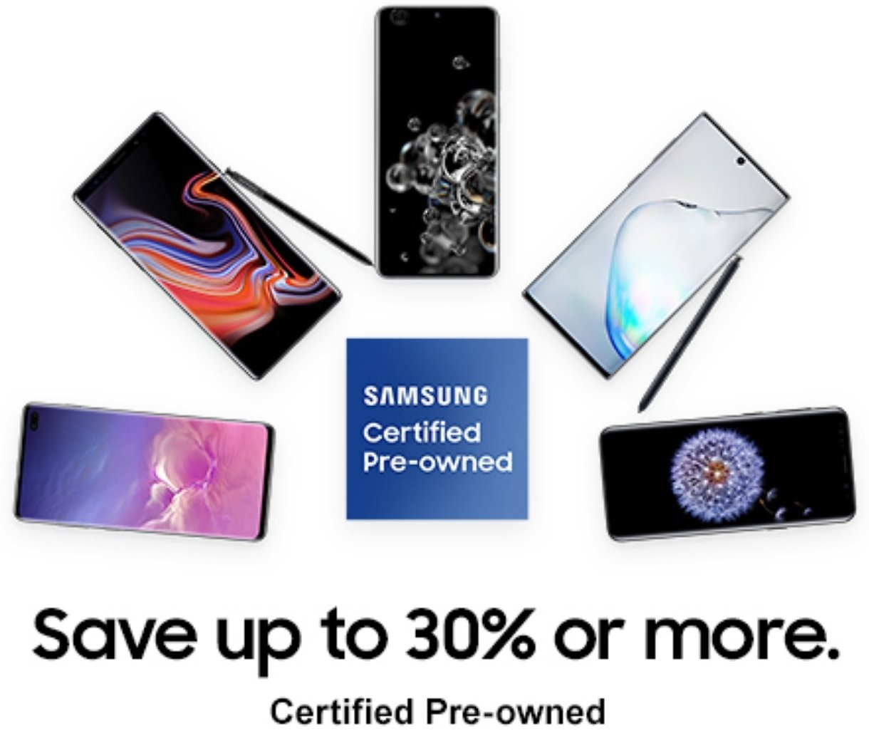 Save Up to 30% Or More On Certified Phones - Samsung