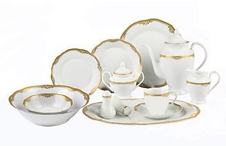 61% OFF! Catherine 57-Pc. Dinnerware Set, Service for 8