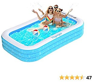 66% OFF ! Hyvigor Family Inflatable Swimming Pool