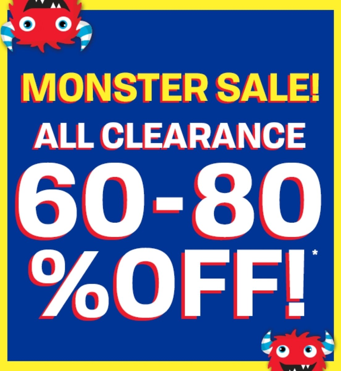 60-80% Off All
