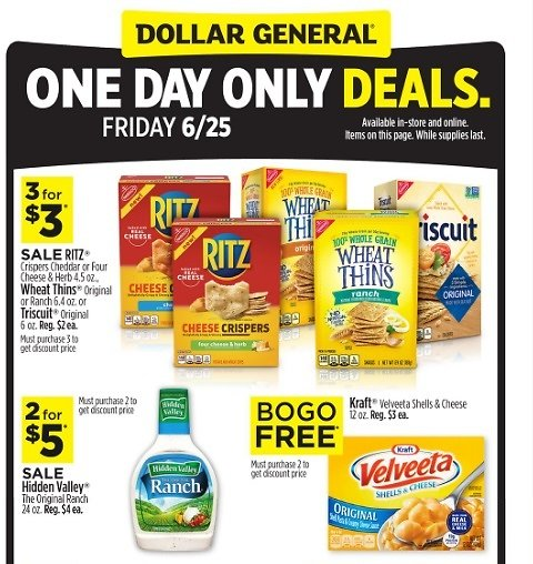 One Day Only Deals Now Live!