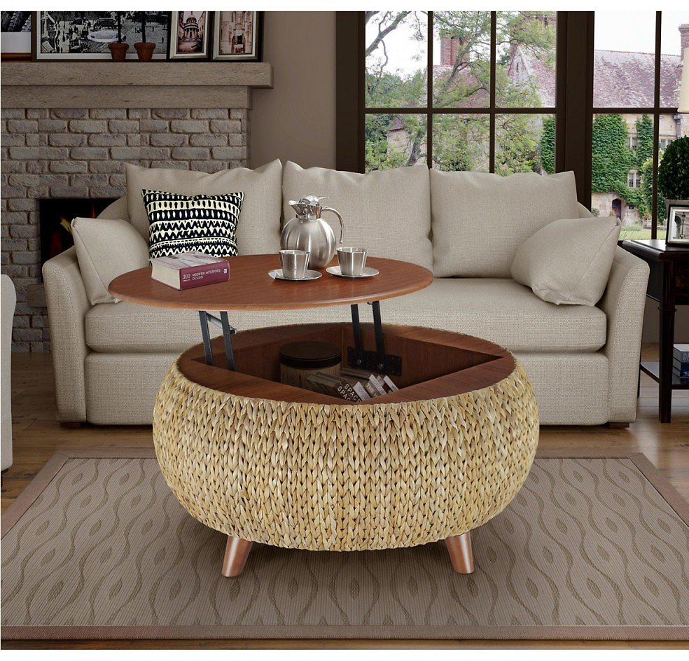 Gallerie Décor Bali Breeze Round Coffee Table