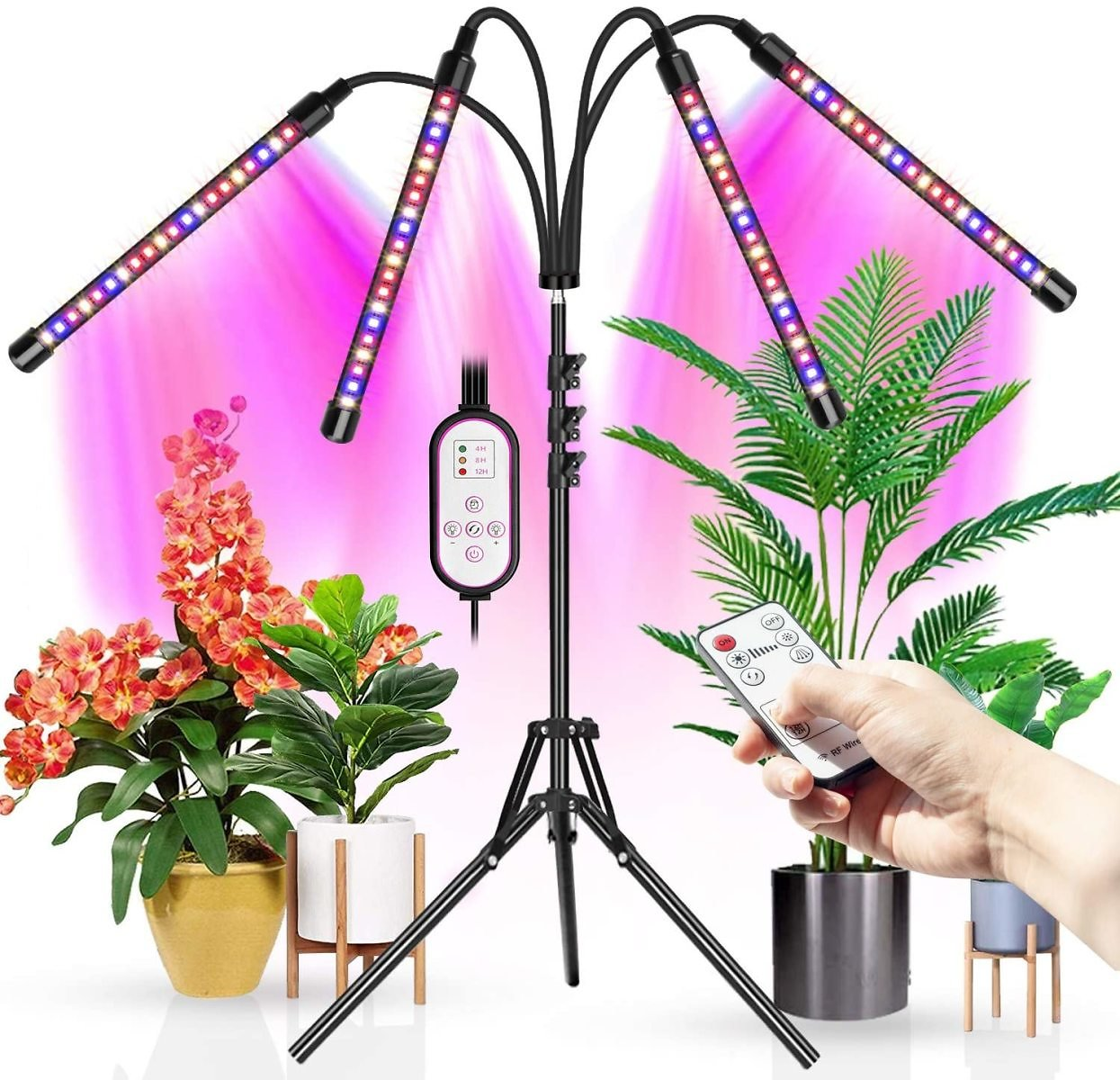 Wolezek LED Grow Light with Stand 11-63