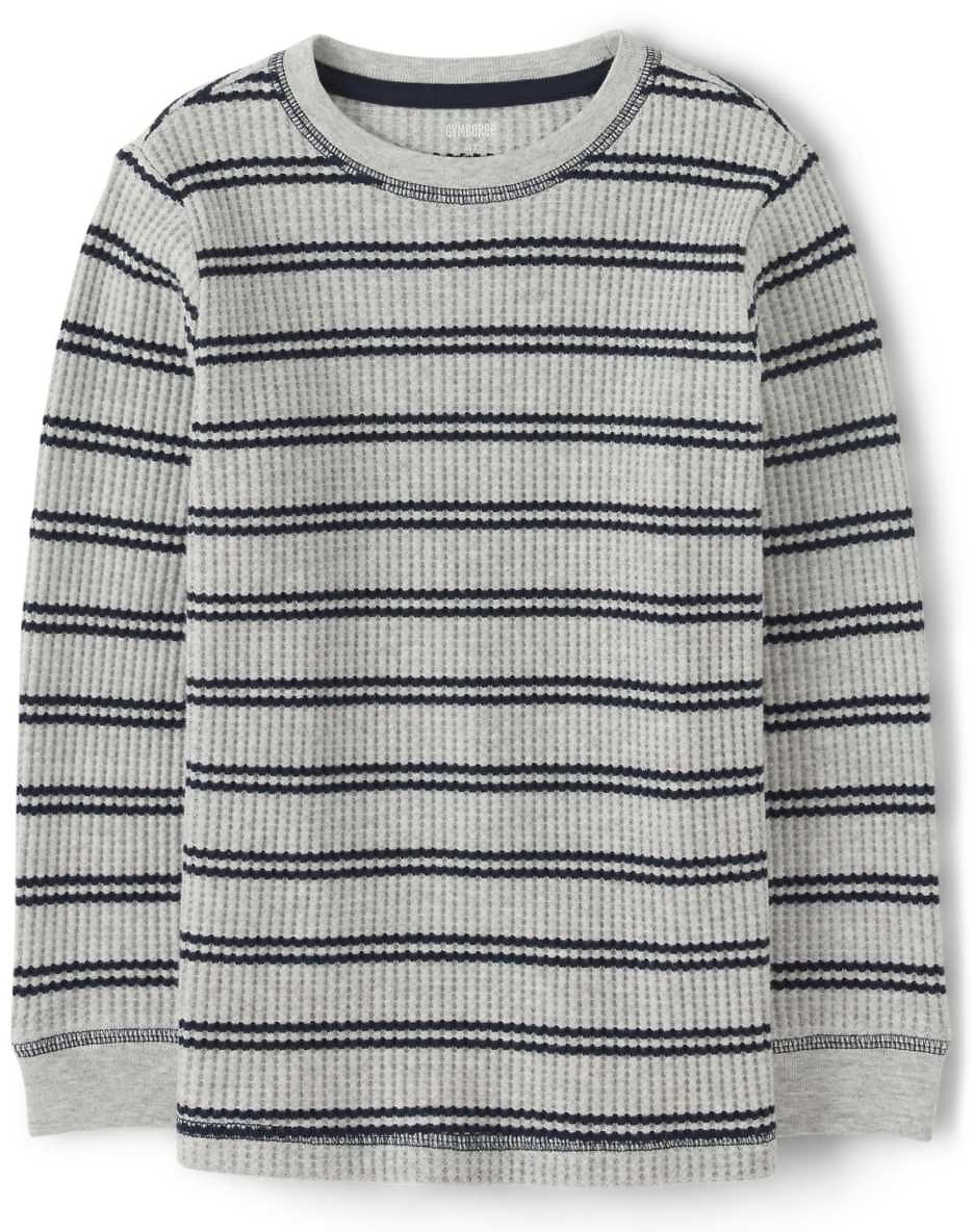 Boys Striped Thermal Top - Every Day Play