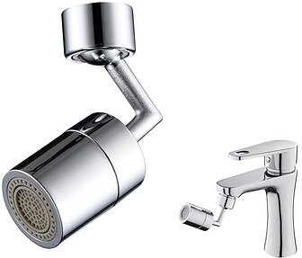 SPOUT ABOUT 720 Easy-Install Rotating Faucet Attachment