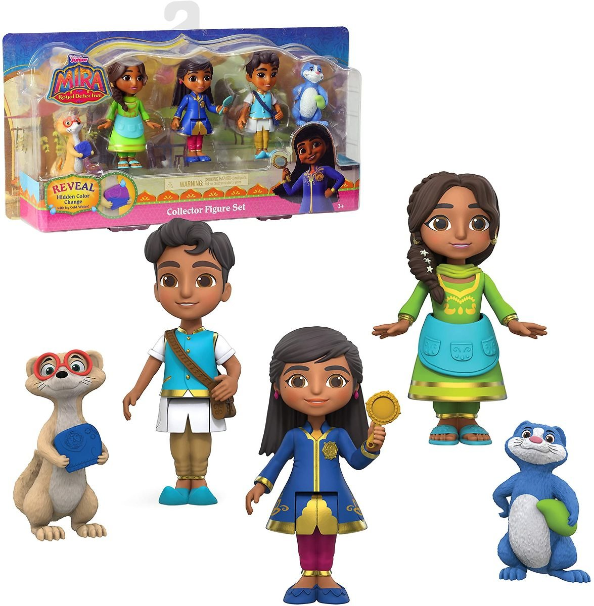 Disney Junior Mira, The Royal Detective Collector Figure Set By Just Play