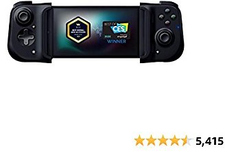 Razer Kishi Mobile Game Controller / Gamepad for Android USB-C: Xbox Game Pass Ultimate, XCloud, Stadia, GeForce NOW, Luna - Passthrough Charging - Low Latency Phone Controller Grip - Samsung, Pixel