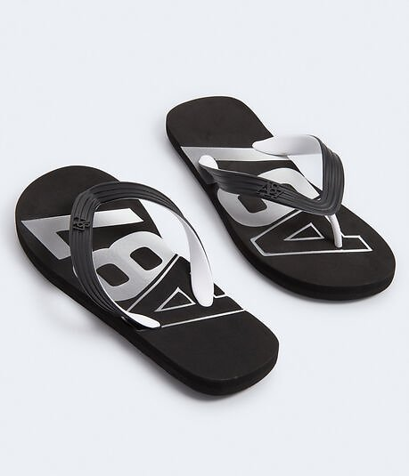 $7 Aero Guys A87 Stamped Flip-Flops (5 Colors)