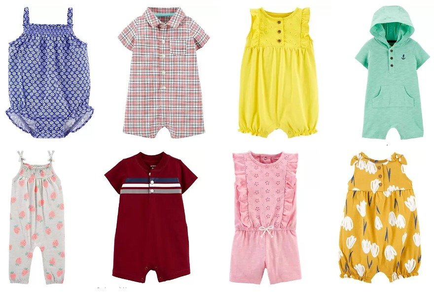 $5 Bodysuits, Rompers + More   Carter's   Free Shipping