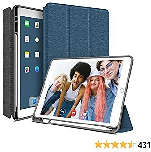 IPad 8th Generation Case for IPad with Pencil Holder   Amazon (coupon Code Included)