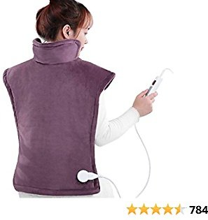 """Large Electric Heating Pad for Back and Shoulders, 24""""x33"""" $16.99+FS"""