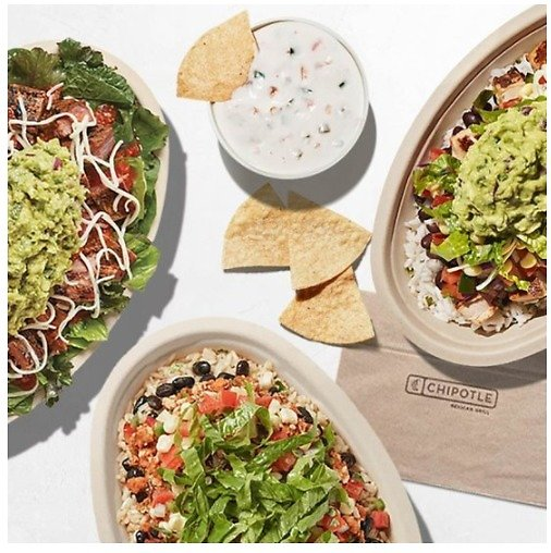Chipotle $50 Gift Code (Digital Delivery)