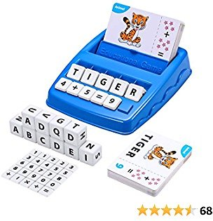 EXTRA 50% OFF Matching Letter Game for Kids Ages 3-7, Educational Toys for 5-7 Year Olds Boys Girls Learning Games for Kids